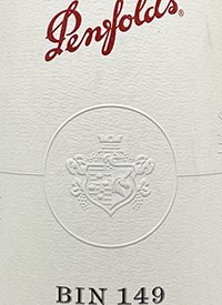 Penfolds American Cabernet Sauvignon Bin 149text