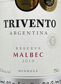 Trivento Reserve Malbectext