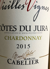Marcel Cabelier Côtes du Jura Chardonnay Vieilles Vignestext