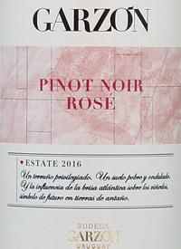 Bodega Garzón Estate Pinot Noir Rosétext