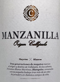 Callejuela Manzanilla Origentext