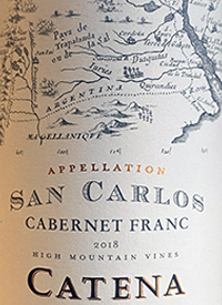 Catena San Carlos Cabernet Franctext