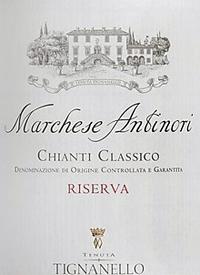 Marchesi Antinori Chianti Classico Riserva Tenuta Tignanellotext