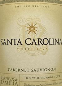 Santa Carolina Cabernet Sauvignon Reserva de Familiatext