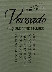 Versado Old Vines Malbectext