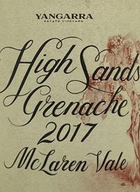 Yangarra High Sands Grenachetext