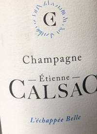 Champagne Étienne Calsac L'Echappée Belle Blanc de Blancstext