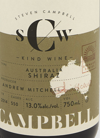 Campbell Kind Wines Australia Shiraztext
