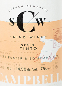 Campbell Kind Wines Spain Tinto Rossotext