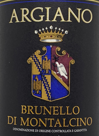 Argiano Brunello di Montalcinotext