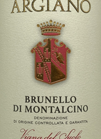 Argiano Brunello di Montalcino Vigna del Suolotext