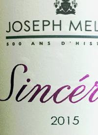 Joseph Mellot Sincérité Pinot Noir Rosétext
