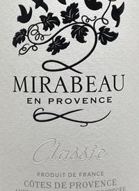 Mirabeau en Provence Rosé Classictext