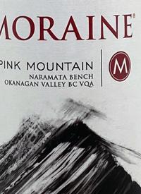 Moraine Pink Mountain Rosétext