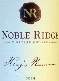 Noble Ridge King's Ransom Meritagetext