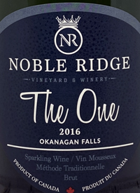 Noble Ridge The One Sparkling Bruttext
