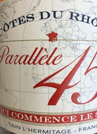 Paul Jaboulet Aîné Parallèle 45 Rosétext