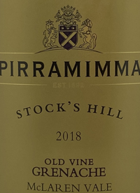 Pirramimma Old Vine Grenache Stock's Hilltext