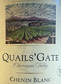Quails' Gate Chenin Blanctext