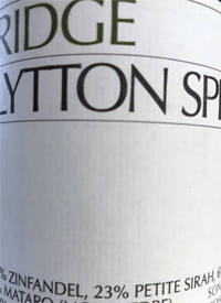 Ridge Lytton Springstext