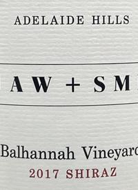 Shaw and Smith Balhannan Vineyard Shiraztext