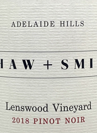 Shaw and Smith Lenswood Vineyard Pinot Noirtext