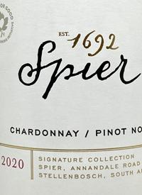 Spier Chardonnay Pinot Noir Signature Collection Rosétext
