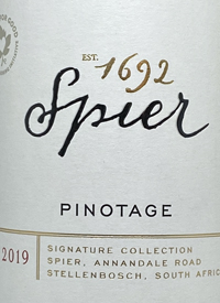 Spier Pinotage Signature Collectiontext