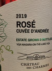 Château des Charmes Rosé Cuvée d'Andréetext