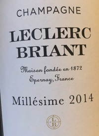 Champagne Leclerc Briant Extra Bruttext