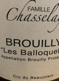 Famille Chasselay Brouilly Les Balloquetstext