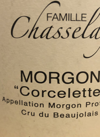 Famille Chasselay Morgon Corcelettetext