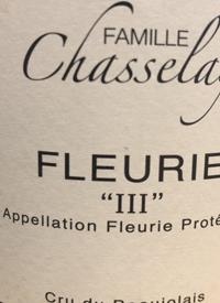 Famille Chasselay Fleurie IIItext