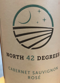 North 42 Degrees Cabernet Sauvignon Rosétext