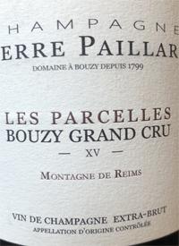 Champagne Pierre Paillard Les Parcelles Bouzy Grand Cru Extra Brut XVtext