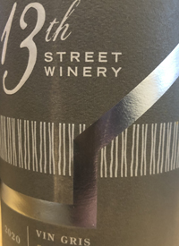 13th Street Winery Vin Gristext