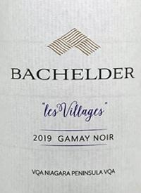 Bachelder Les Villages Gamay Noirtext
