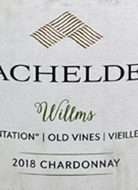 Bachelder Willms Chardonnay 1983 Plantation Old Vines I Vielles Vignestext