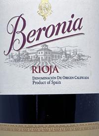 Bodegas Beronia Rioja Tempranillotext