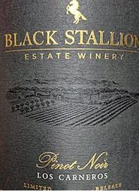 Black Stallion Limited Release Pinot Noirtext