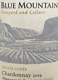 Blue Mountain Estate Cuvée Chardonnaytext