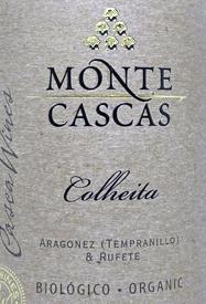 Casca Wines Monte Cascas Colheitatext