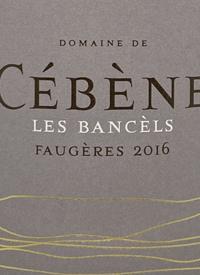 Domaine de Cébène Les Bancèlstext