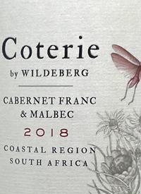 Coterie of Wildeberg Cabernet Franc Malbectext