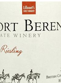 Fort Berens Dry Rieslingtext