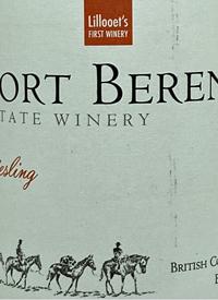 Fort Berens Rieslingtext
