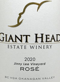 Giant Head Rosé Jinny Lee Vineyardtext