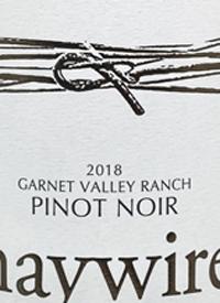 Haywire Garnet Valley Ranch Pinot Noirtext