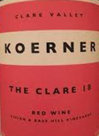 Koerner The Clare Red Winetext