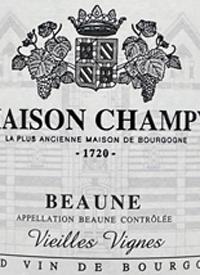 Maison Champy Beaune Vieilles Vignestext